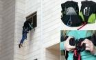 Bộ đồ nghề thoát hiểm cực nhanh, cực an toàn cho những người ở chung cư cao tầng