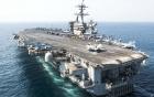 Nhóm tác chiến tàu sân bay Mỹ chạm mặt chiến hạm Trung Quốc trên Biển Đông