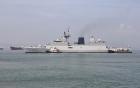 Ba tàu hải quân Ấn Độ cập cảng Đà Nẵng