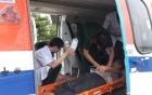 Bộ Quốc phòng điều trực thăng ra Trường Sa cấp cứu ngư dân