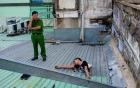 Tên trộm số nhọ: Đi ăn trộm điện thoại bị mắc kẹt suốt đêm trên mái nhà ở Sài Gòn