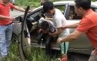 Hải Dương: Thực nghiệm điều tra vụ án giết người, cướp taxi