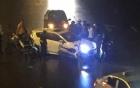 Clip: Cảnh truy bắt nghẹt thở xe chở ma túy trên cầu Vĩnh Tuy