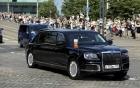 Tổng thống Putin lần đầu mang siêu xe mới công du nước ngoài