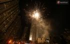 Màn pháo hoa cùng bữa tiệc ánh sáng đèn LED hoành tráng ghi dấu sự kiện ra mắt Vincom Center Landmark 81