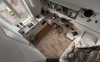 Căn hộ nhỏ vỏn vẹn gần 18m² này chứng minh cho bạn thấy ở nhà nhỏ vẫn tuyệt như nhà to