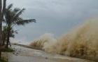 Siêu bão Mangkhut giật trên cấp 17 tăng tốc vào biển Đông, bão số 5 đổi hướng