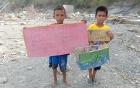 Indonesia tổ chức hỗ trợ tâm lý, xã hội cho trẻ em vùng động đất, sóng thần