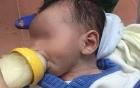 Bé trai 2 tháng tuổi bị bỏ rơi bên đường ở thị xã Cửa Lò