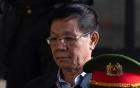 Ông Nguyễn Thanh Hóa đi bệnh viện khi tòa đang xét xử, luật sư đọc thơ về cựu tướng Vĩnh