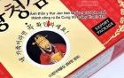 """Nhiều loại """"an cung"""" Hàn Quốc bị làm giả, thổi giá và tính năng"""