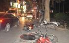 Video: Giây phút nữ tài xế Lexus gây tai nạn liên hoàn trên phố Trích Sài