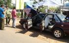 Xe của cán bộ kiểm lâm Bình Phước nghi bị đặt mìn tự chế