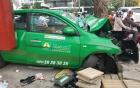 Taxi Mai Linh gây tai nạn liên hoàn ở Sài Gòn, 2 người nguy kịch