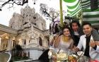 Cận cảnh lâu đài xa hoa của đại gia Nam Định tặng con gái 200 cây vàng trong lễ cưới