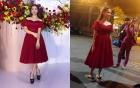 Lộ hậu trường ăn mặc luộm thuộm đi ăn cưới của Hòa Minzy khiến dân mạng
