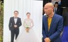 Bất ngờ với hành động của Công Lý trong đám cưới Trung Hiếu và vợ trẻ kém 19 tuổi