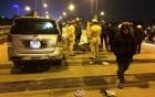 Tai nạn thương tâm: Xe Innova tông liên hoàn 2 xe máy, 4 người nguy kịch