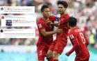 Chuyên gia bóng đá quốc tế ngả mũ trước chiến tích của tuyển Việt Nam