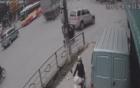 Sang đường bất cẩn, người đàn ông gặp tai nạn thương tâm