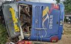 Nha Trang: Xe khách giường nằm gây tai nạn kinh hoàng, 35 người nhập viện