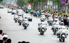 Công an Hà Nội huy động xe đặc chủng, 100% quân số tham gia dẫn đoàn đón nguyên thủ Mỹ - Triều