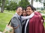 Bố thần đồng Đỗ Nhật Nam chia sẻ xúc động trong ngày tốt nghiệp của con