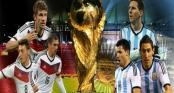 Đức đấu với Argentina: Dự đoán tỉ số trận đấu chung kết World Cup 2014 2h ngày 14/7