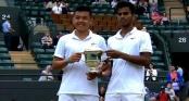 Video: Lý Hoàng Nam vô địch đôi giải trẻ Wimbledon 2015