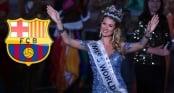 Tân Hoa hậu thế giới là fan ruột của Barcelona