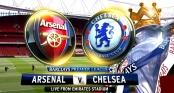 Link sopcast trận Arsenal vs Chelsea - 23h00 ngày 24/1