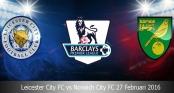 Link sopcast trận Leicester City vs Norwich City - 22h00 ngày 27/2