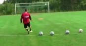 Video dạy bóng đá cơ bản (phần 9): Kỹ thuật sút bóng cầu vồng