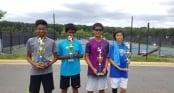 Cậu bé gốc Việt vô địch Giải quần vợt trẻ Mỹ