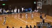 Cầu thủ bóng rổ nhí Nhật Bản ghi bàn từ sân nhà gây sốc