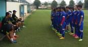 Tuyển U16 nữ Việt Nam quyết giành vé dự giải châu lục