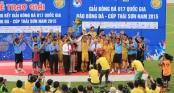 Giải thưởng cực hấp dẫn cho đội vô địch Giải U17 QG 2016
