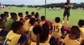 Đội bóng nhí Việt Nam tiếp tục thắng lớn tại Trung Quốc