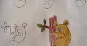 Góc học vẽ: Biến những con số khô khan thành động vật ngộ nghĩnh
