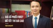 Tỷ phú đôla Trịnh Văn Quyết lên tiếng việc ROS tăng phi mã