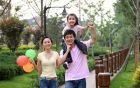 Bí quyết giúp trẻ đi du xuân cùng cha mẹ không bị mệt