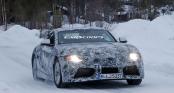 Clip cảnh Toyota Supra 2019 trượt tuyết ngoạn mục