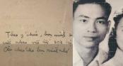 Thiệp cưới bình dị, nhưng thầy Văn Như Cương và vợ đã bên nhau cả đời