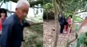 Bắt quả tang cụ già xâm hại tình dục bé gái ở vườn nhà