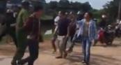 Nhóm thanh niên cầm gạch rượt đánh cảnh sát ở Quảng Ninh