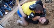 Tài xế xe tải hạ gọn võ sĩ MMA chuyên nghiệp trong 3 phút
