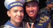Việt Quang xúc động khi giấc mơ về Trường Sa thành hiện thực