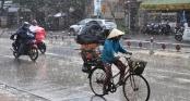 Thời tiết hôm nay 6/7: Hà Nội mưa rào và dông vài nơi