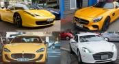 Những bộ sưu tập siêu xe \