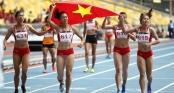 Đột phá dũng mãnh, tuyển điền kinh Việt Nam đứng đầu một kỳ SEA Games